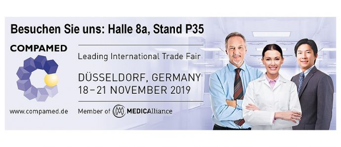 RSG on Medica/Compamed in Düsseldorf