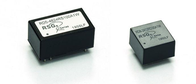 Neue extrem kompakte R-Series Wandler in DIP8 und DIP16 Gehäusen
