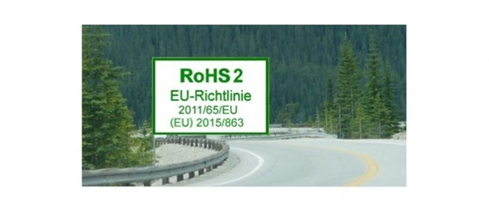 New EU RoHS amendment effective on 22nd July 2019